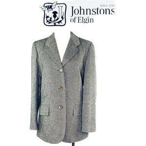 Johnstons of Elgin 100% Cashmere Blazer Scottish